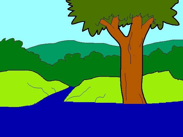 Effacer une partie d'une zone Walk+arbre